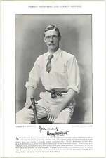 1895 Cricket VERNON, G F, Middlesex : KITCAT, S A P, Gloucestershire