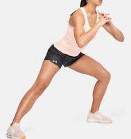 Under Armour Women's UA Play Up 2.0 Shorts , Jet Gray , Medium