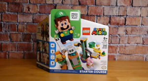 LEGO Super Mario Adventures with Luigi Starter Course Set 71387 On Hand 2021