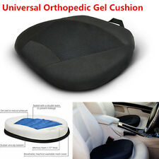 Brand Orthopedic Gel Cushion Mat for Drivers Car Seat Office Chair w/Memor Black