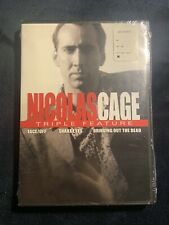 Nicolas Cage Triple Feature, Face/off, Snake Eyes, Bringing Out the Dead New