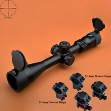 Eagle Eye 4-16x40 SF Wide Field of View Mil Dot Rifle Scope W/ 2 kinds of Mounts