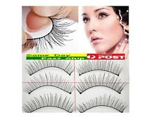 10 Pairs of False Eyelashes Eye Lashes Natural Long thick Extension AU local