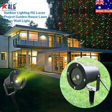 Outdoor Lighting RG Laser Projector Garden House Lawn Xmas Party Light