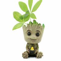 Guardians of The Galaxy Baby Groot Figure Flowerpot Pen Pot Home / Office Decor
