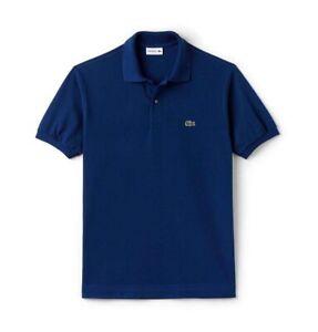 Lacoste Polo Shirt BNWT size XL (6) Slim Fit Mens Blue Genuine PH4012