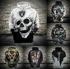Las Vegas Raiders Hoodie Football Hooded Sweatshirt Sports Jacket Gift for Fans