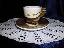 Thun Club 1 caffé al volo Espressotasse 2005 Goldener Flügelhenkel (Nr.1)