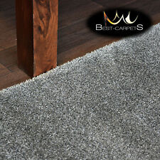 Hardwearing Soft carpets 'DISCRETION' grey very thick Large Size Best-carpets