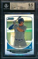 BGS 9.5 AARON JUDGE 2013 Bowman Chrome Draft REFRACTOR Rookie Card RC GEM MINT