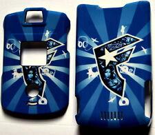 2 X Blue Motorola V3 V3c v3m Razr Faceplate Cover case razor phone Snap On Hard