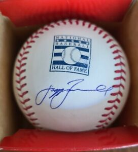 Houston Astros Jeff Bagwell Signed Autographed Hall of Fame Baseball HOF ROMLB
