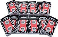 Set of 12 Red Decks Original 2017 WSOP Used Copag Plastic Playing Cards *