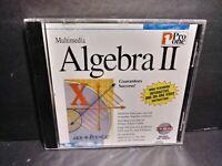 Pro One Multimedia Algebra II CD ROM IBM/Windows Brand New B345
