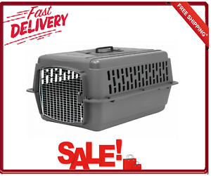 Aspen Pet Porter Dog Crate Carrier Small 28 Inch Length Interior Floor Moat New