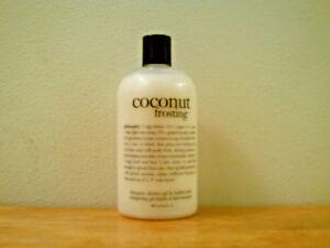Philosophy Coconut Frosting Shampoo & Shower Gel (16 oz) Brand New & Sealed