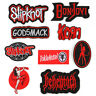 DIY Embroidered Slipknot Sew Iron On Badge Patches Clothing Fabric Applique