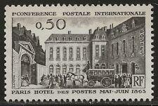 N° 1387**  CENTENAIRE DE 1ère CONFERENCE POSTALE INTERNATIONALE