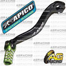 Apico Black Green Gear Pedal Lever Shifter For Kawasaki KX 85 2007 Motocross
