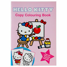 Hello Kitty Copy Colouring Book - Children's activity book for kids aged 3+
