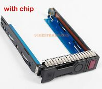 "for HP G9 Gen9 651314-001 REV 3.010 3.5"" LFF HDD Tray Caddy 651320-001 ML30 G9"