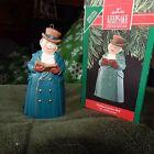 Hallmark Keepsake Ornament in Box, DICKENS CAROLER BELL - MR. ASHBOURNE, 1990