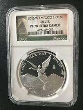 2016 Mexico 1oz Silver Libertad Proof PF70 NGC .999 Onza Special Pyramid Label