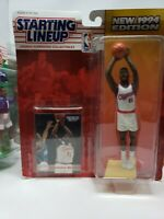 NBA Basketball Dominique Wilkins (1994) Starting Lineup Kenner Figure