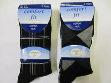 Calze e calzini da uomo nero a righe