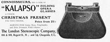 London Stereoscopic Co Kalapso Opera Glasses - Antique Advert 1902