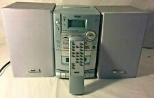 RCA RS1290 /CD /CASSETTE/RADIO MICRO SYSTEM With Remote