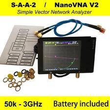 NanoVNA V2 50kHz-3GHz Vector Network Analyzer Antenna Analyzer VNA HF VHF UHF