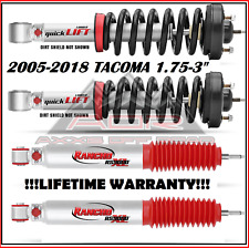 RANCHO 9000 ADJUSTABLE FRONT/REAR SHOCKS FOR 05-18 TOYOTA TACOMA 2WD 4WD