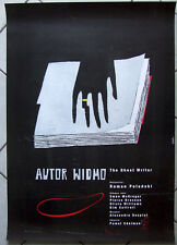 The Ghost Writer - Pierce Brosnan - Polanski - Kubica - Polish Poster