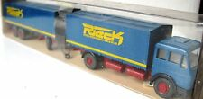 RARE WIKING MERCEDES TRUCK WITH TRAILER LKW M. ANHANGER 21CM RIECK IN BOX 27 455