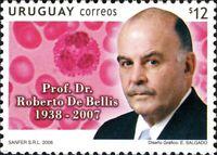 Uruguay 2008 Tribute to Professor Dr. Roberto de Bellis MNH unused stamp
