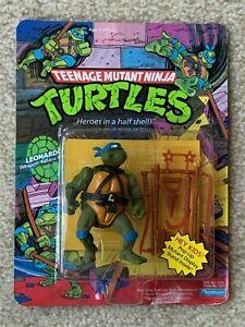 TMNT 1988 Ninja Turtles Leo Leonardo Action Figure Toy MOC Pop Up Sealed RARE!