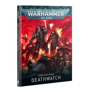 Codex Deathwatch 9th Edition 2020 Book Warhammer 40K NEW