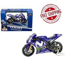 Yamaha YZR-M1 #46 Valentino Rossi Blue 1/18 Diecast Motorcycle Model by Maisto
