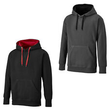 Dickies Hooded Pullover Mens 2 Tone Work Sweatshirt Durable Tough Jumper SH3007