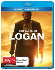 Logan (Blu-ray, 2017) NEW