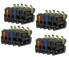 20 Ink Cartridges for Brother DCP130C DCP135C dcp-540cj MFC240C MFC5460CN LC1100