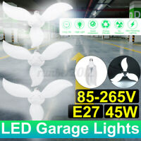 45W 85-265V Adjustable E27 LED Garage Light Deformable Work Night Light Lamp Y