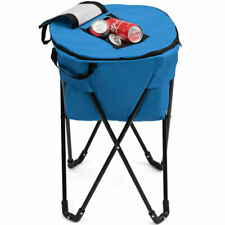 Topbuy Portable Ice Cooler Bag Tub Cooler W/Stand &Travel Bag For Outdoor Picnic