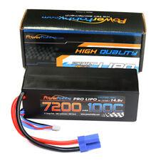 Powerhobby 4s 14.8v 7200mah 100c Lipo Battery w EC5 Plug Hard Case 4-Cell