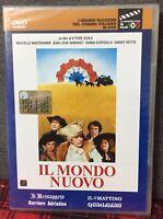 IL Mondo Nuovo DVD Nuovo Editoriale di Ettore Scola Mastroianni Come Foto N