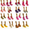 10 Artikel Party Daily Wear Dress Outfits Kleidung Schuhe für Puppe G0D0