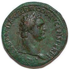 DOMITIEN Sesterce IOVI VICTORI (COS XV) ROME +90 RIC.388