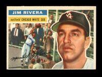 1956 Topps Baseball #70 Jim Rivera WB (White Sox) NM