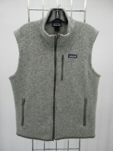 K1574 Patagonia Men's Full-Zip Fleece Vest Size L